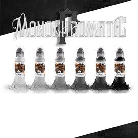 World Famous Ink Poch's Monochromatic Set